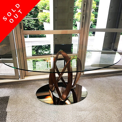 "【Sold Out】porada ""Infinity Tavolo Ellittico"" 1 Base 【展示品特価Sale 約40%OFF】"