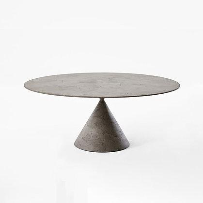 "【Sale】DESALTO ""Clay"" finiture stone 697 Ø120 D64(grey)"