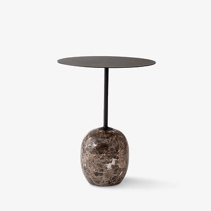 "&Tradition ""Lato LN8 side table"" Warm Black"