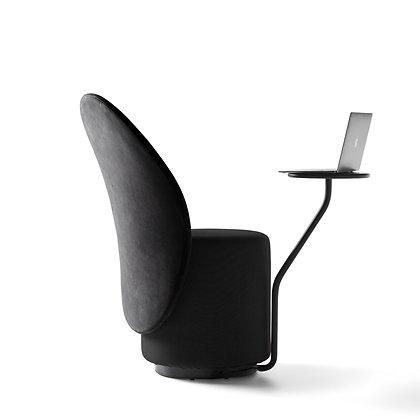 "OPINION CIATTI ""Loomi"" black/black+black table"