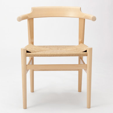"""PP Møbler """"PP68 Last Dining Chair"""" Beech Lacquer"""
