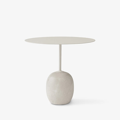 """&Tradition """"Lato LN9 side table"""" Ivory White"""