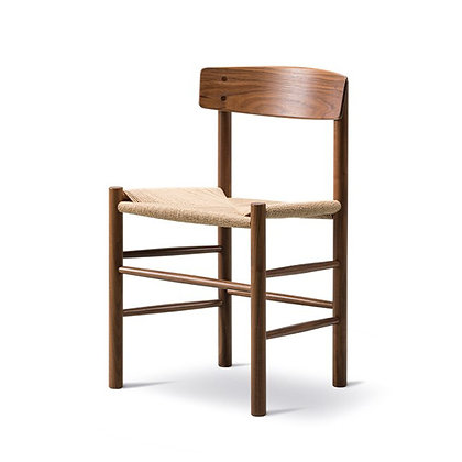 "Fredericia ""J39 Chair"" Walnut Oil"