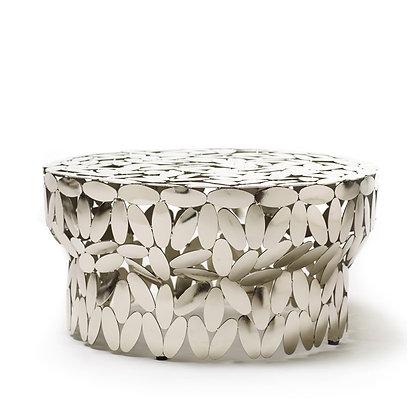 """OPINION CIATTI """"Foliae collection"""" silver table"""