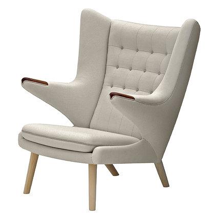 "PP Møbler ""PP19 Papa Bear Chair"" Standard Fabric"