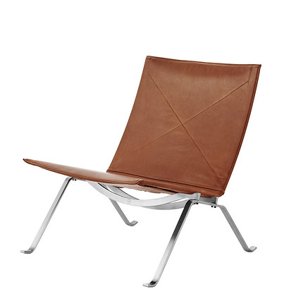 "【約20%OFF】FRITZ HANSEN ""PK22™"" Leather cat.5 Grace walnut"