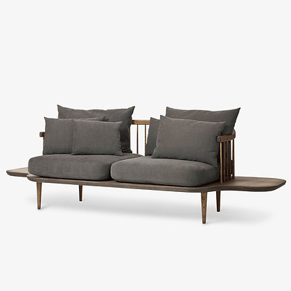 "&Tradition ""Fly SC3 sofa"" Smoked Oiled Oak"
