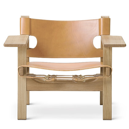 """【25%OFF】Fredericia """"Spanish Chair"""" Oak Soap Natural Leather【当社新品在庫Sale】"""