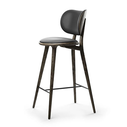 "mater ""High Stool Backrest"" Sirka grey oak 73cm"
