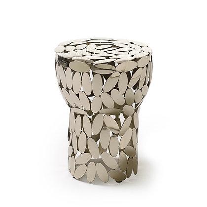"""OPINION CIATTI """"Foliae collection"""" silver stool"""