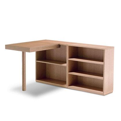 """Cassina """"LC16"""" Desk connected left Oak natural"""