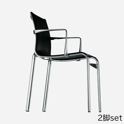 "Alias ""highframe 40 417"" arm chair (2脚set)"