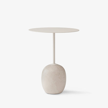"""&Tradition """"Lato LN8 side table"""" Ivory White"""