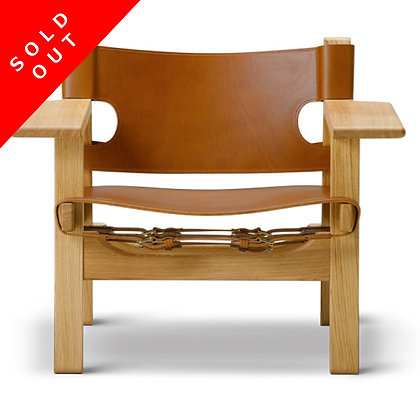 """【Sold Out】【展示品Sale】Fredericia """"Spanish Chair"""" Oak Soap Cognac Leather"""