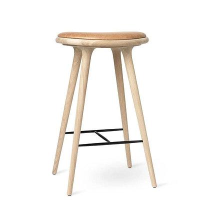 "mater ""High Stool"" Soaped oak 74 cm"