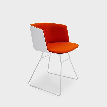 "lapalma ""CUT S139"" metal(white) orange"