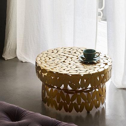 """OPINION CIATTI """"Foliae collection"""" gold table"""