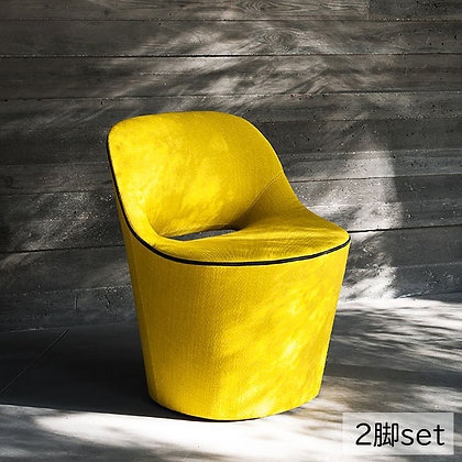 "Tacchini ""Eddy"" Yellow (2脚set)"