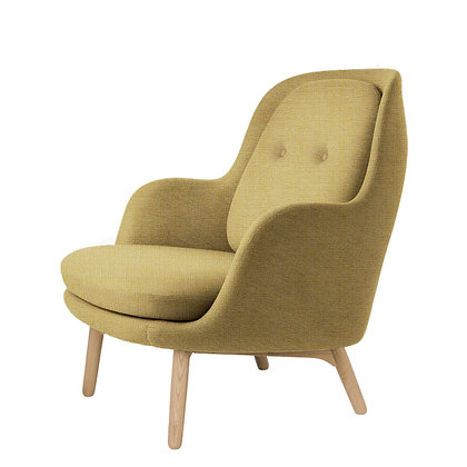 "【20%OFF】FRITZ HANSEN ""FRI"" Fabric Christianshavn Yellow 1110"