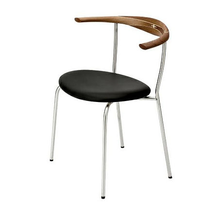 "PP Møbler ""PP701 Minimal Chair"" Walnut Oil"