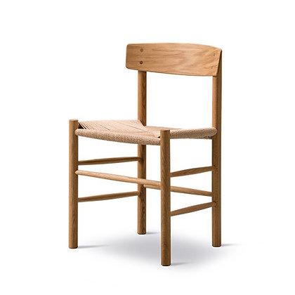 "Fredericia ""J39 Chair"" Oak Oil"