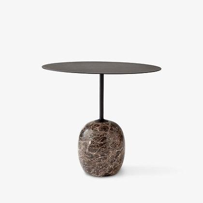 "&Tradition ""Lato LN9 side table"" Warm Black"
