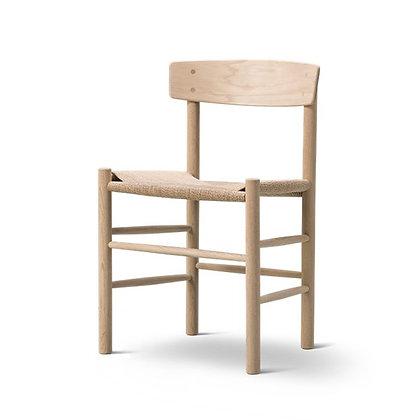 "Fredericia ""J39 Chair"" Oak Soap"