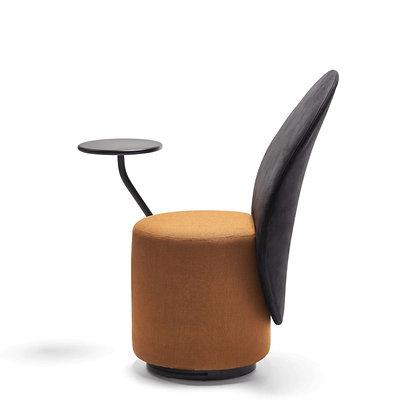 "OPINION CIATTI ""Loomi"" black/rust+black table"