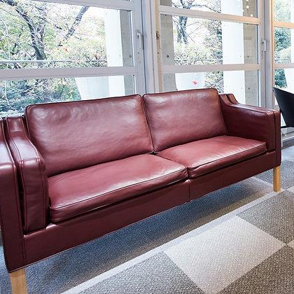 """【展示品Sale】Fredericia """"Mogensen 2212 Sofa"""" 2seater Indian Red"""