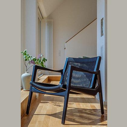 """ClassiCon """"Euvira Lounge Chair"""" black cord"""