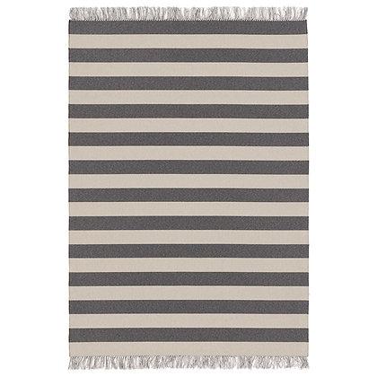 """Woodnotes """"Big stripe in/out"""" melange grey-light sand"""
