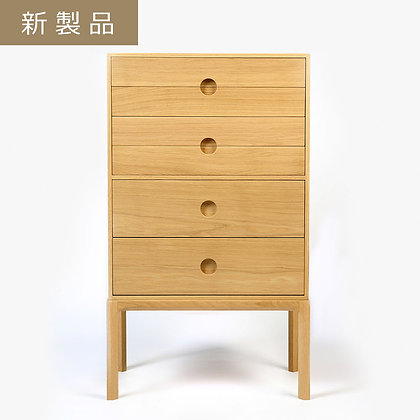 """GETAMA """"ENTRE 3B - 6drawers (4 small/2 large)"""" Oak Lacquer"""