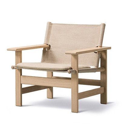 "Fredericia ""Model 2031 The Canvas Chair"" natural canvas"