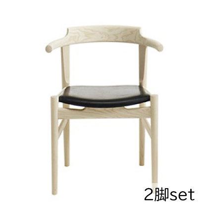 "PP Møbler ""PP58 Last Dining Chair"" Ash Soap (2脚set)"