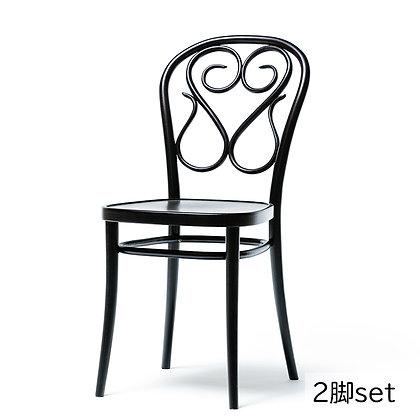 "TON ""chair 04"" (311 004) Black Grain (2脚set)"
