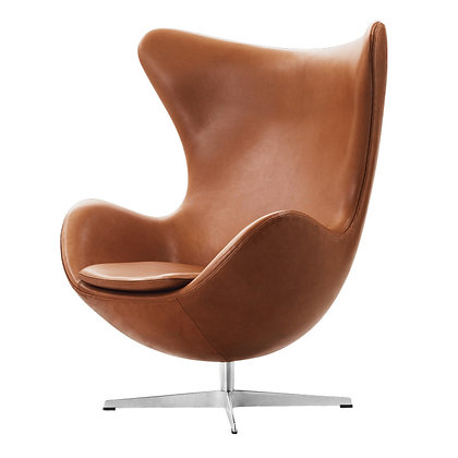"【約20%OFF】FRITZ HANSEN ""EGG"" Leather cat.5 Grace walnut"