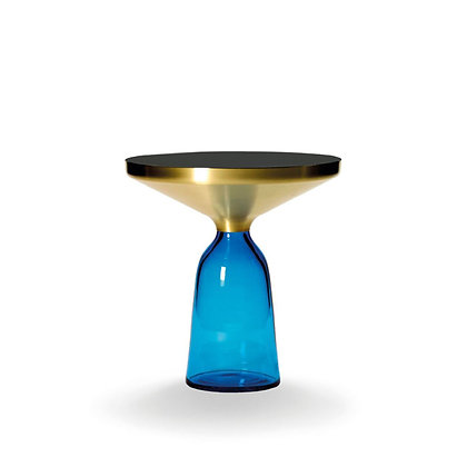"ClassiCon ""Bell Side Table"" Solid brass frame"