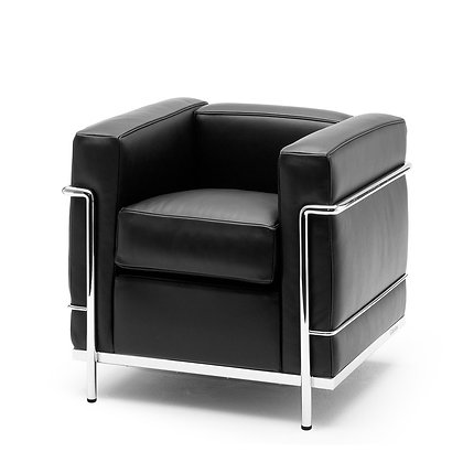 """Cassina """"LC2"""" Armchair Feather padding"""