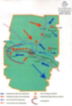 Гражданская война Глазовский район карта