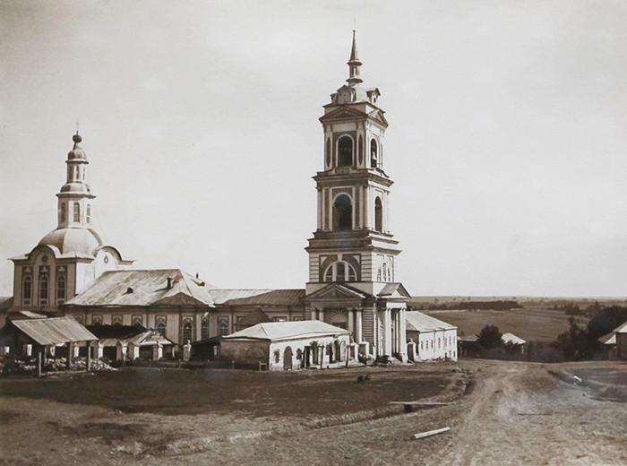 Рождественско-Богородицкая церковь с. Бе