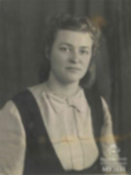 Нина Владимировна Бородина. Москва, 1947
