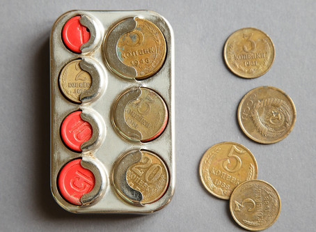 Новое старое. Монетница карманная