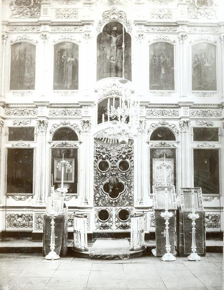 Иконостас Троицкой церкви в с. Елово. Фо