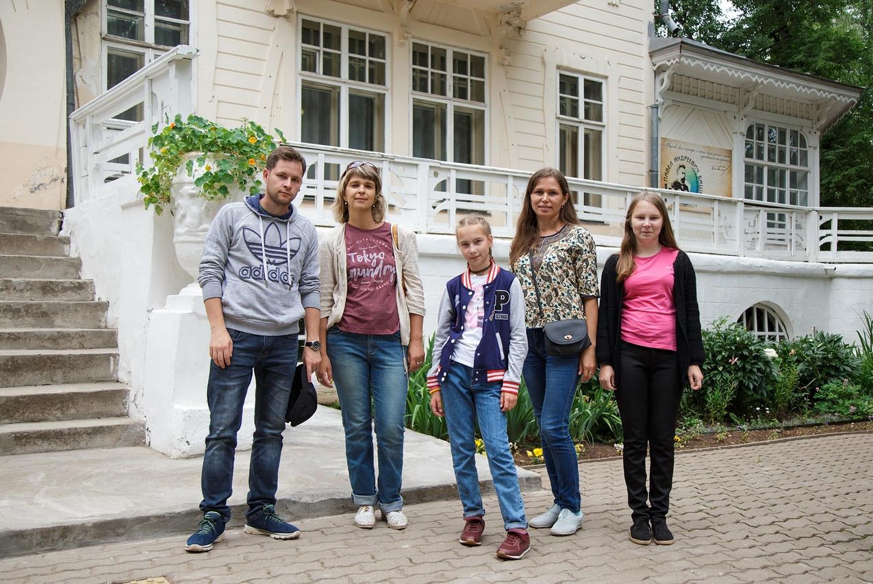 Сотрудники музея в Сарапуле 12