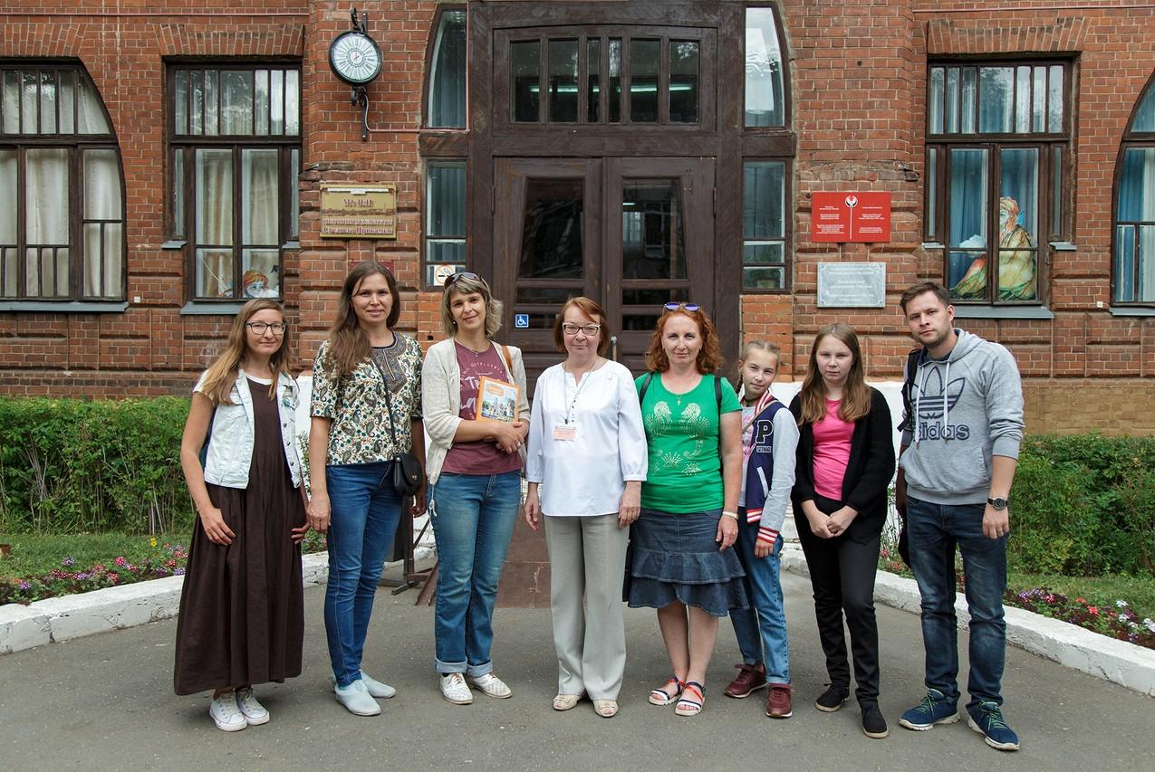 Сотрудники музея в Сарапуле 07