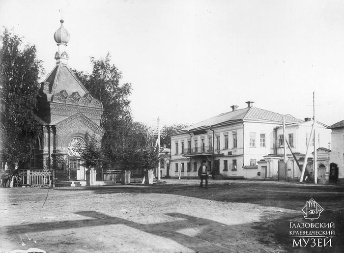Часовня А. Невского. Фото П.А. Молчанова