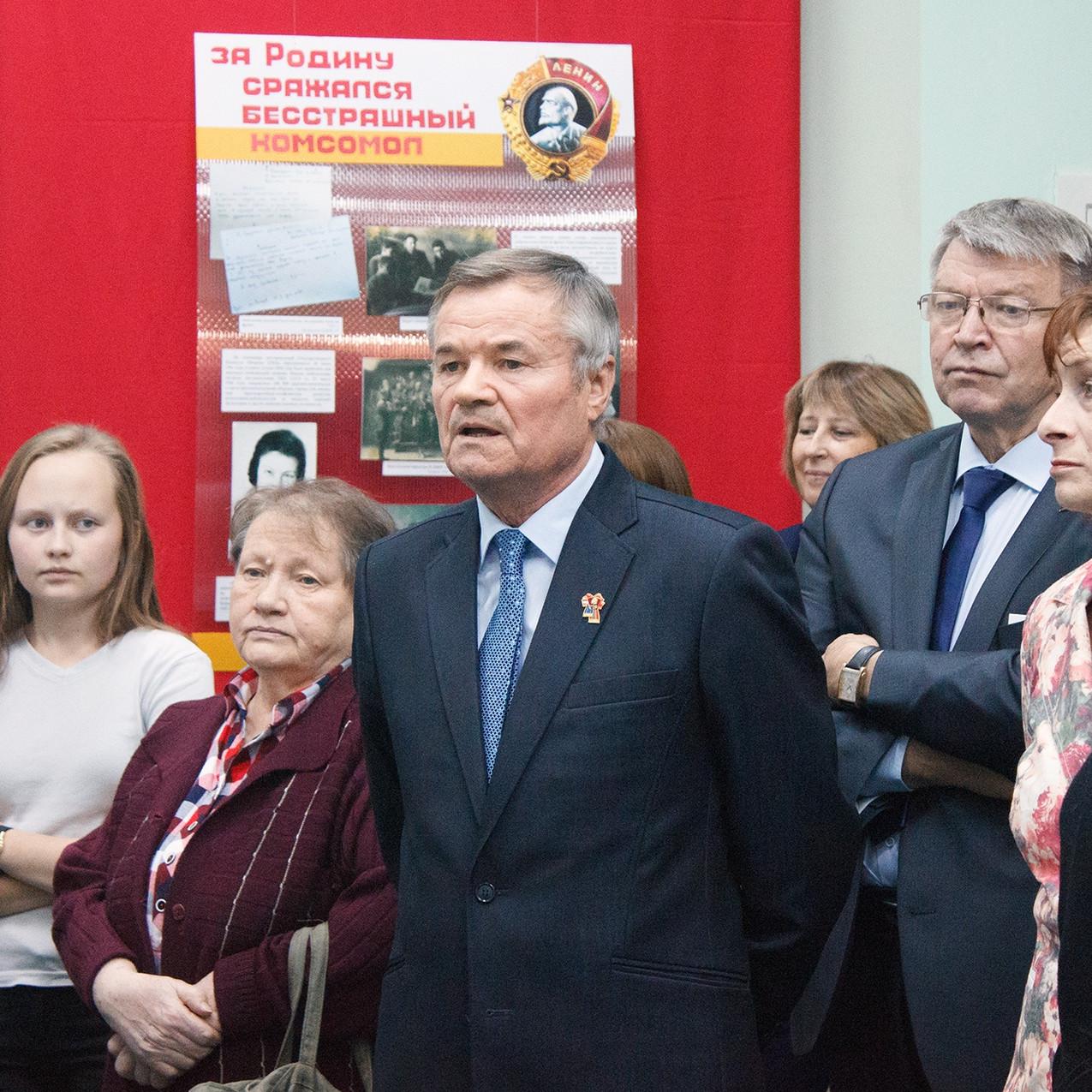 100 лет ВЛКСМ – связь поколений 04