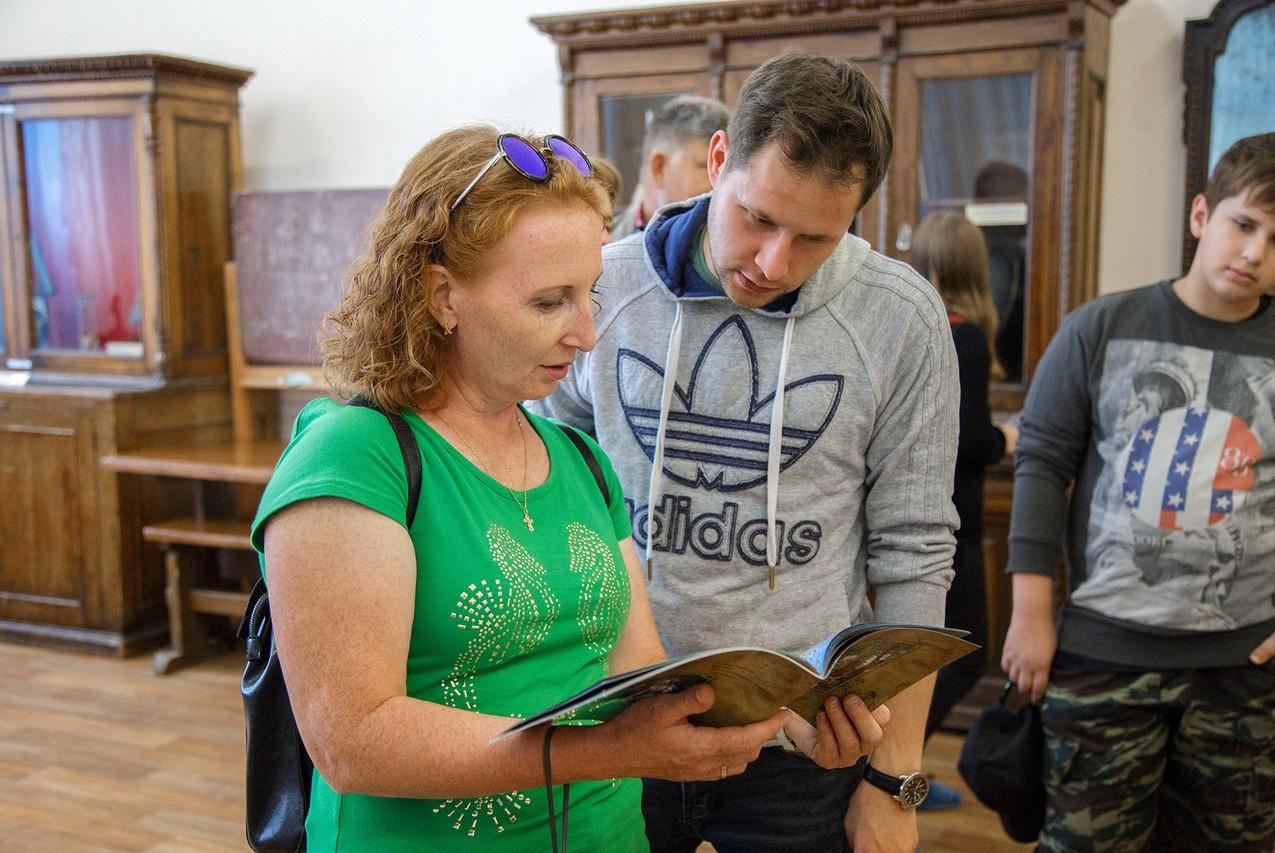 Сотрудники музея в Сарапуле 05