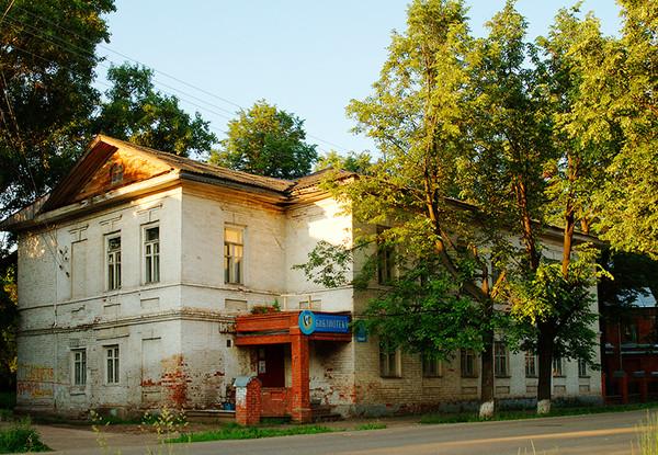 Здание бывшего военного присутствия, гор
