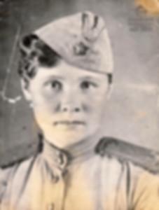16. Таня Барамзина - курсант Центральной
